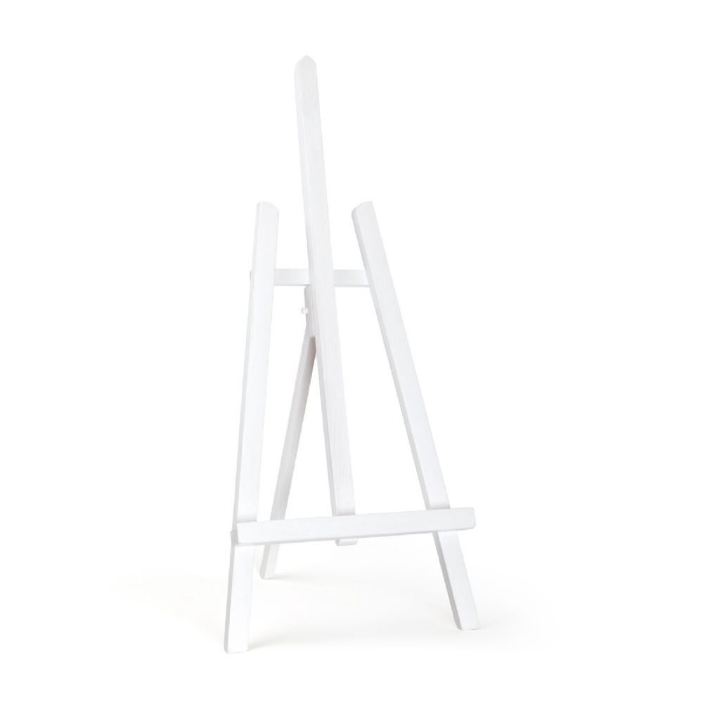 "White Colour Easel Essex 24"" - Beech Wood"